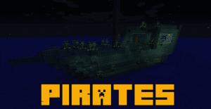 Pirates mod - Пираты [1.12.2]