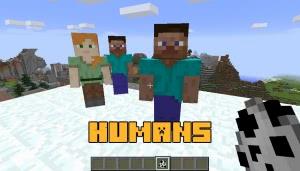 Humans - люди-друзья (компаньоны) [1.12.2]