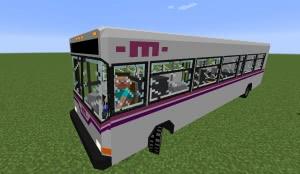 Mmmpack - автобусы для симулятора транспорта [1.12.2] [1.11.2] [1.10.2]