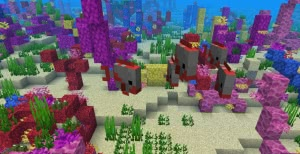 Датапак Piranhas - пираньи и новые рыбы [1.13.2]