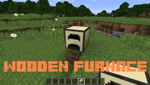 Wooden Furnace - деревянная печь [1.13.2] [1.12.2]