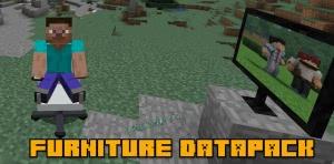 Furniture Datapack - датапак мебели [1.14.1] [1.13.2]