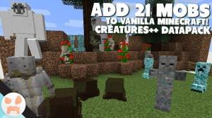 Creatures++ - 21 новый моб [1.13.2] [Датапак]