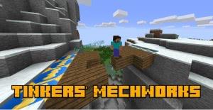Tinkers Mechworks Fork - постройка мостов и дверей [1.14.4] [1.12.2] [1.7.10]