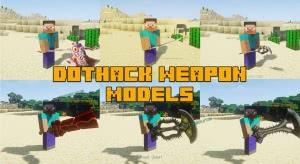 dotHack Weapon Models - объемные магическое оружие [1.15.2] [1.14.4] [1.12.2]