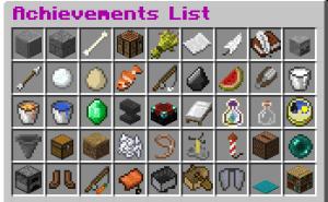 Advanced Achievements - продвинутые достижения[1.13.2 - 1.8.3]