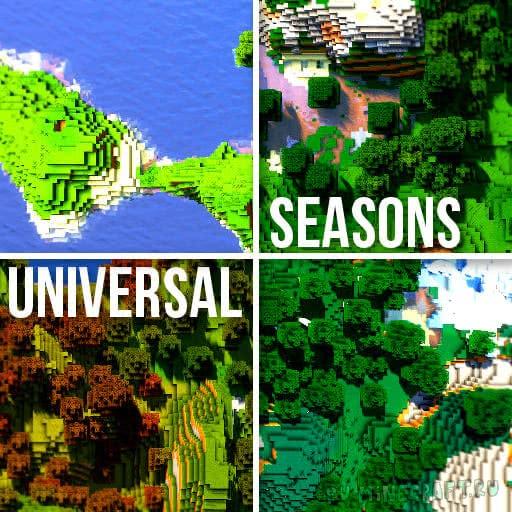 Universal Seasons - текстуры сезонов года [1.15.1] [1.14.4] [1.13.2] [1.12.2-1.8]