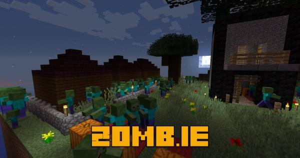 Zomb.ie - карта сбеги от зомби [1.12.2]