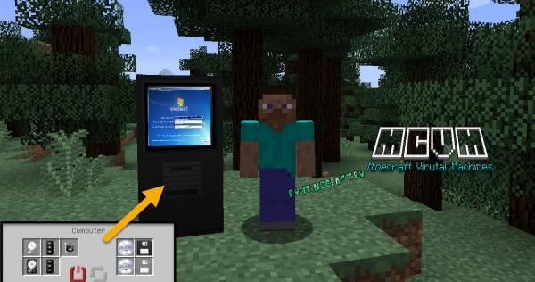 Minecraft Virtual Machines - виртуальная машина в майнкрафт [1.12.2]