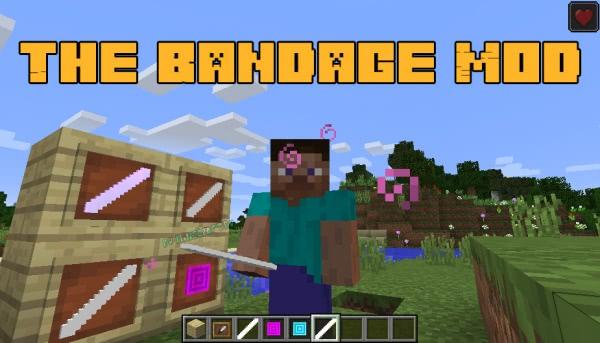 The Bandage Mod - бинты с эффектами [1.12.2]