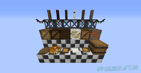 BDM (Billy's Decos Mod) - большое количество декоративных вещей [1.12.2]