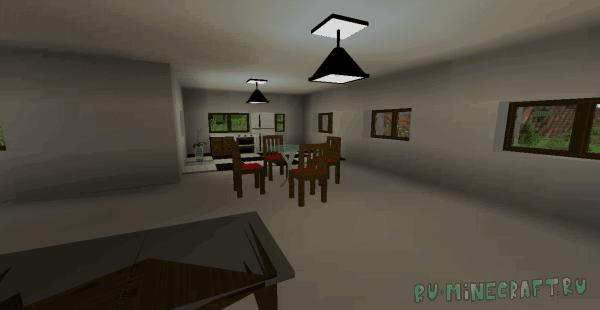 Modern Creator - современная мебель для дома в майнкрафте [1.16.5] [1.14.4] [1.12.2]