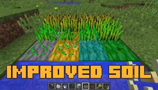 Improved Soil - улучшенная земля [1.12.2] [1.12.1]