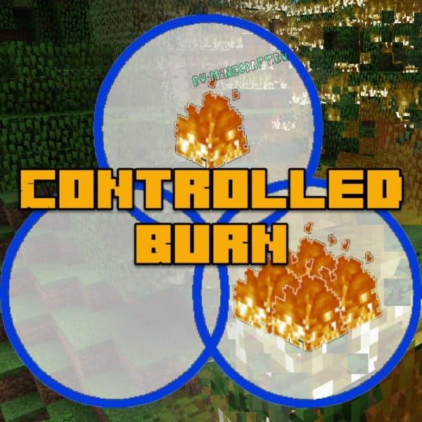 Controlled Burn - настройки огня [1.12.2]