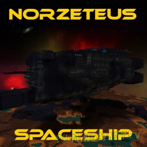 Norzeteus Spaceship - крутой космический корабль [1.12.2] [1.11.2]