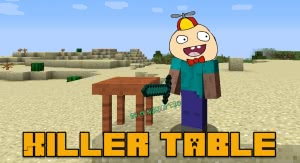 Killer table - дроп с монстров в режиме Мирно [1.16.5] [1.12.2]