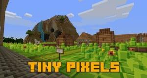 Tiny Pixels - мультяшный ресурспак [1.13.2] [1.12.2] [16x]
