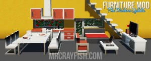 MrCrayfish's Furniture Mod - фурнитура мод [1.16.5] [1.15.2] [1.14.4] [1.12.2] [1.11.2] [1.8.9] [1.7.10]
