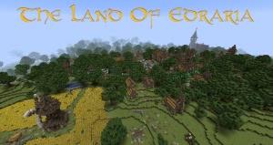 The Land Of Edraria - средневековая карта с квестами [1.13.2]