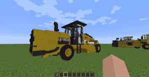 Caterpillar Pack - тракторы и строительная техника для Transport Simulator [1.12.2] [1.11.2] [1.10.2]