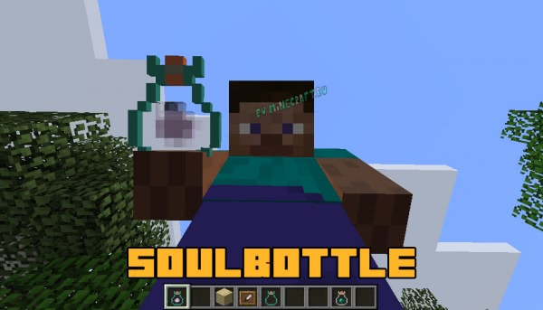 SoulBottle - забираем душу моба [1.12.2]