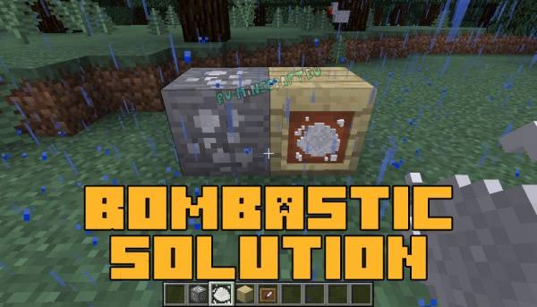 Bombastic Solution - делаем порох [1.12.2]