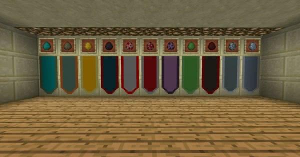 Mob Banners - флаги мобов [1.12.2]