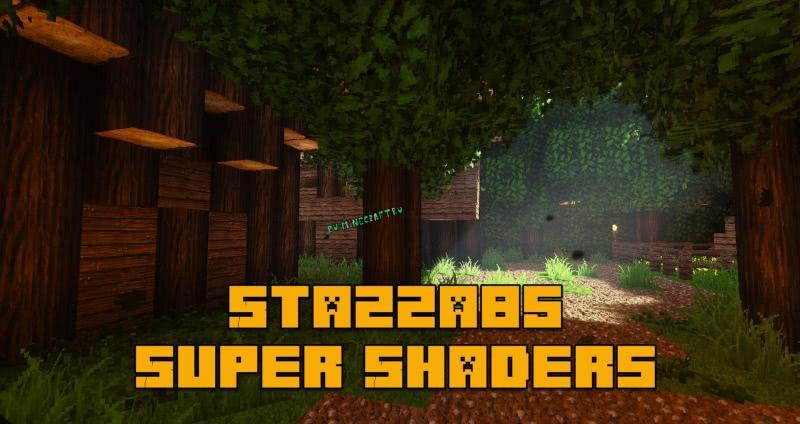 Stazza85 Super Shaders - красочные шейдеры [1.13.2] [1.12.2-все версии]
