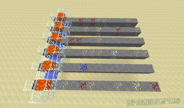 Flowstone - генератор руды [1.15.2] [1.12.2]