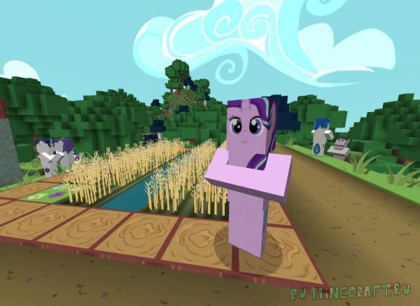 Flutterstorm's PonyCraft - Пони ресурспак? [1.13.2] [1.12.2] [1.11.2] [1.10.2]  [x128]