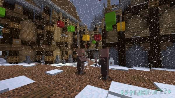 Рождественские заморочки - новогодняя карта [1.13.2]