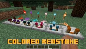 Colored Redstone - редстоун всех цветов [1.12.2]