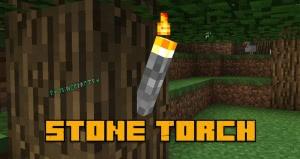 Stone Torch - факелы из булыжника [1.12.2]