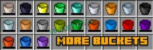 More Buckets - большие ведра [1.12.2]