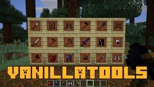 VanillaTools - новые инструменты из стандартных руд [1.12.2]