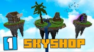 SkyShop - комфортный скайблок с магазином [1.13.2]
