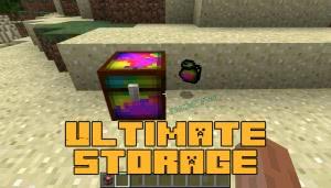 Ultimate Storage - бесконечное хранилище [1.12.2]