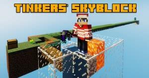 Tinkers' Skyblock - бесконечные инструменты для скайблок [1.12.2]