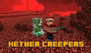 Nether Creepers - заряженные криперы в аду [1.13.2]