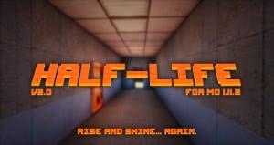 Half-Life - Монтировку в руки! текстуры халф лайф для майнкрафт [1.11][x64]