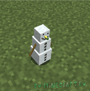 Snowmancy - снеговик помощник [1.16.1] [1.15.2] [1.14.4] [1.12.2]