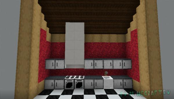 Legopitstops Appliance Pack - интерьерный ресурспак [1.13.2] [16x16]