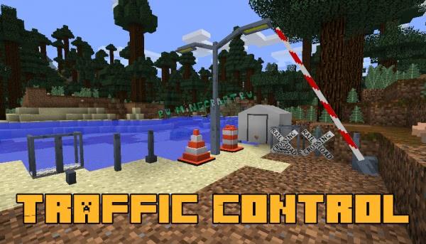 Traffic Control - предметы для декора дорог и улиц [1.12.2] [1.12.1]