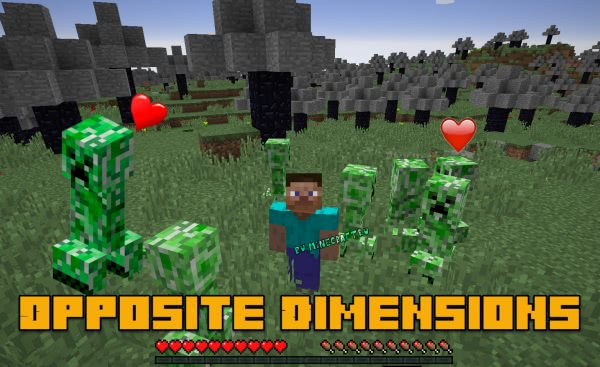 Opposite Dimensions - измерение наоборот [1.12.2]