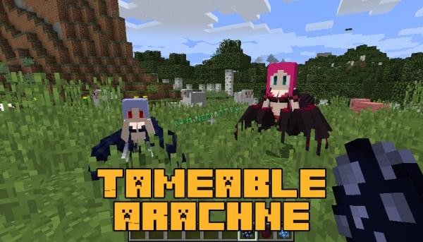 Tameable Arachne - человеко-пауки [1.12.2]