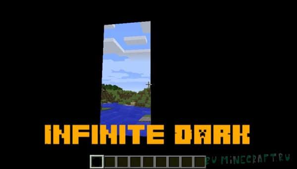 Infinite Dark - абсолютно чёрный блок [1.16.5] [1.12.2]