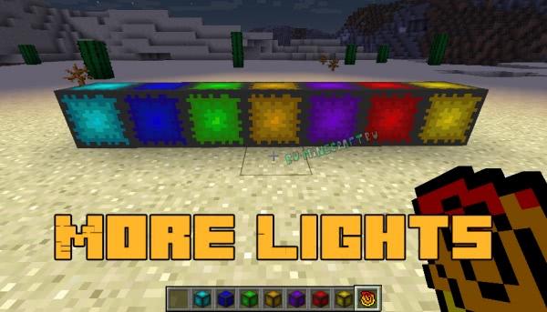 More Lights - больше видов ламп [1.14.2] [1.13.2] [1.12.2]