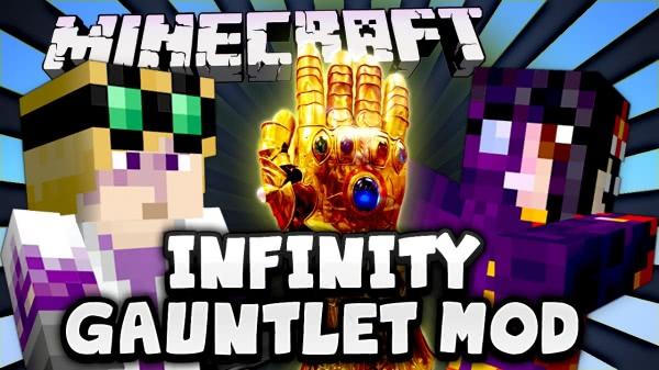Infinity Gauntlet - перчатка и камни бесконечности [1.12.2] [1.8.9] [1.7.10]