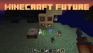 Minecraft Future - вещи из майнкрафт 1.14 в 1.12.2 [1.12.2]