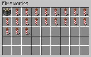 Creative Fireworks - фейерверки в креативе [1.15.1] [1.14.4] [1.13.2] [1.12.2]